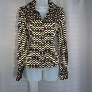 Mark Shale button down blouse